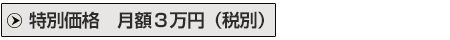 お手軽監視プラン特別価格3万円